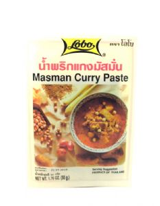 Masman Curry Paste by Lobo | Buy Online at the Asian Cookshop